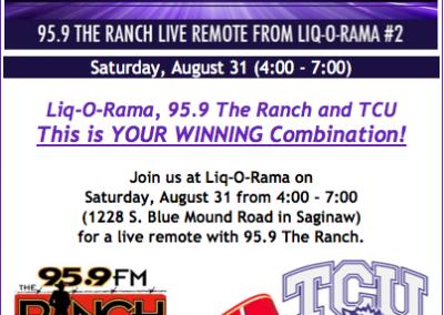 Liq-O-Rama Live Remote Event