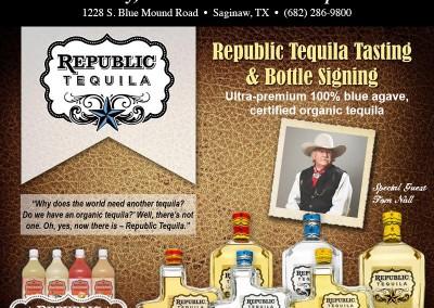Tom Nall Republic of Texas Tasting