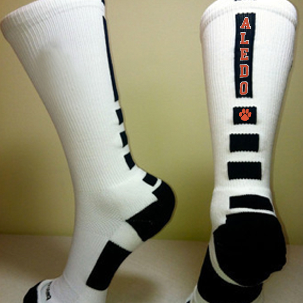 Custom Designed Aledo Socks