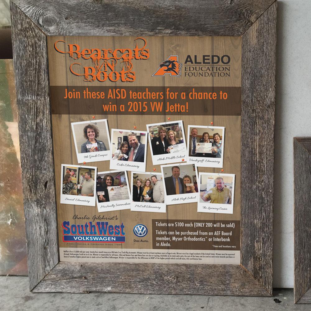 Aledo Education Foundation Bearcats 'n Boots