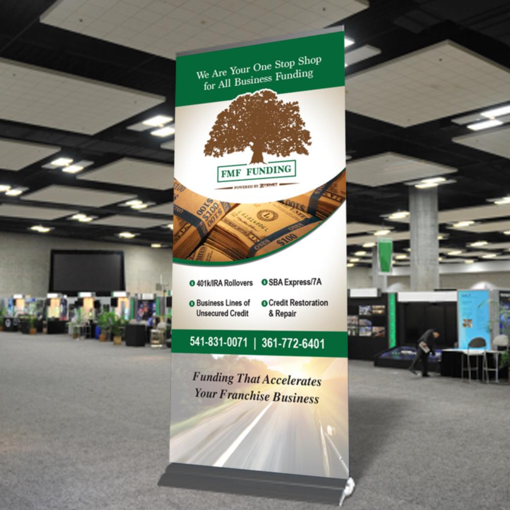 FMF Funding Tradeshow Popup Banner