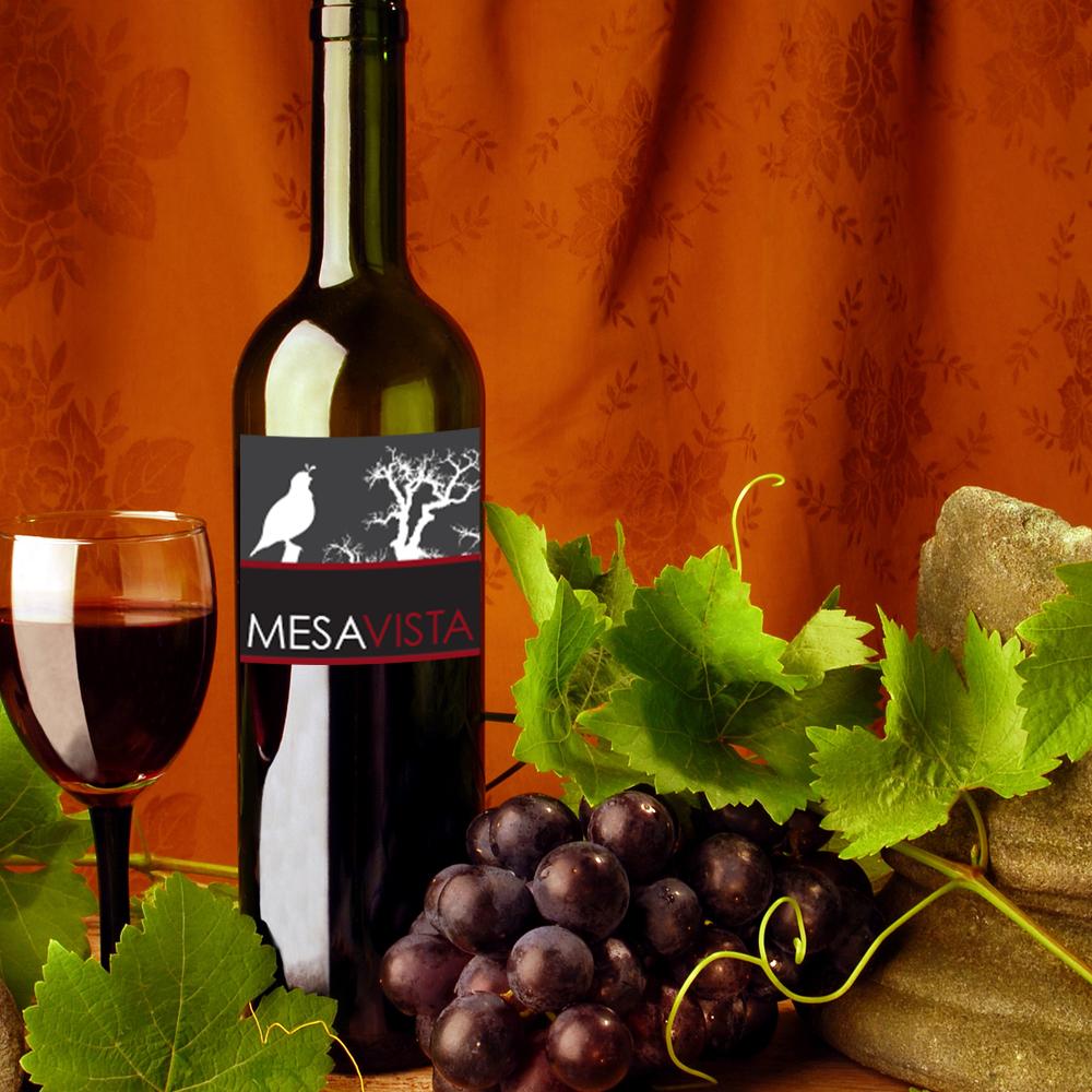 Mesa Vista Wine Labels