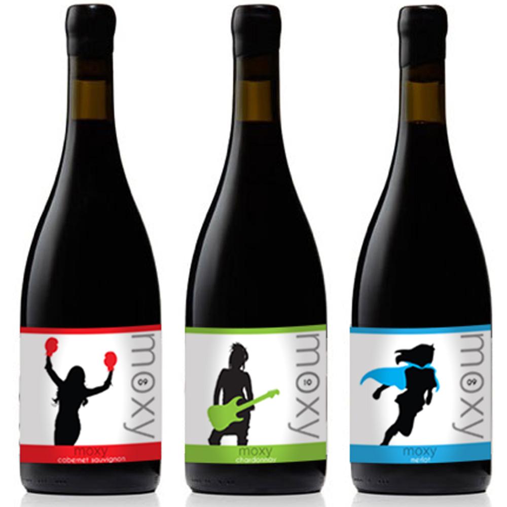 Moxy Wines Labels