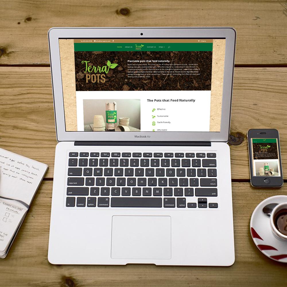 Terra Pots Website