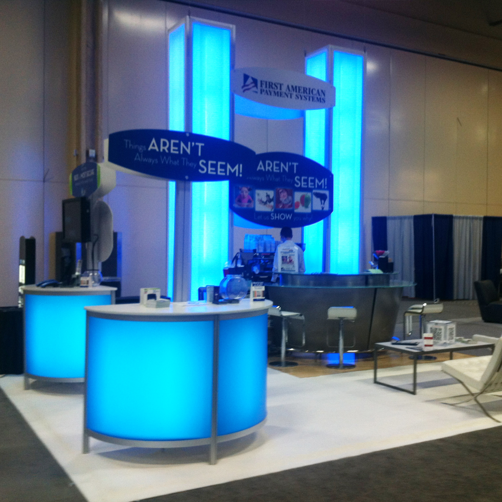 ETA Trade Show Booth for First American